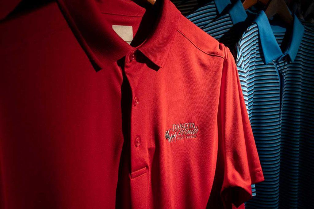 Dakota Winds Golf Course Pro Shop Polo Shirts