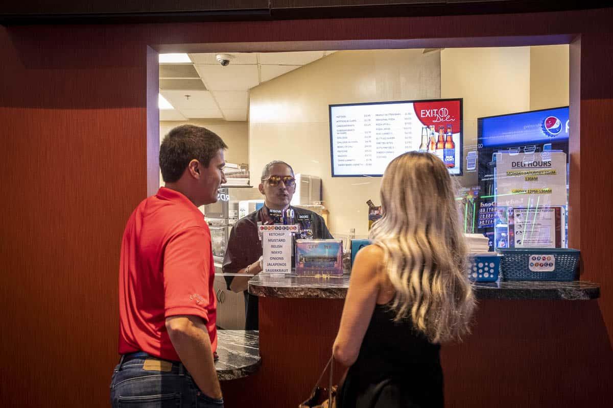 Exit 1 Deli Dakota Magic Casino Couple Ordering
